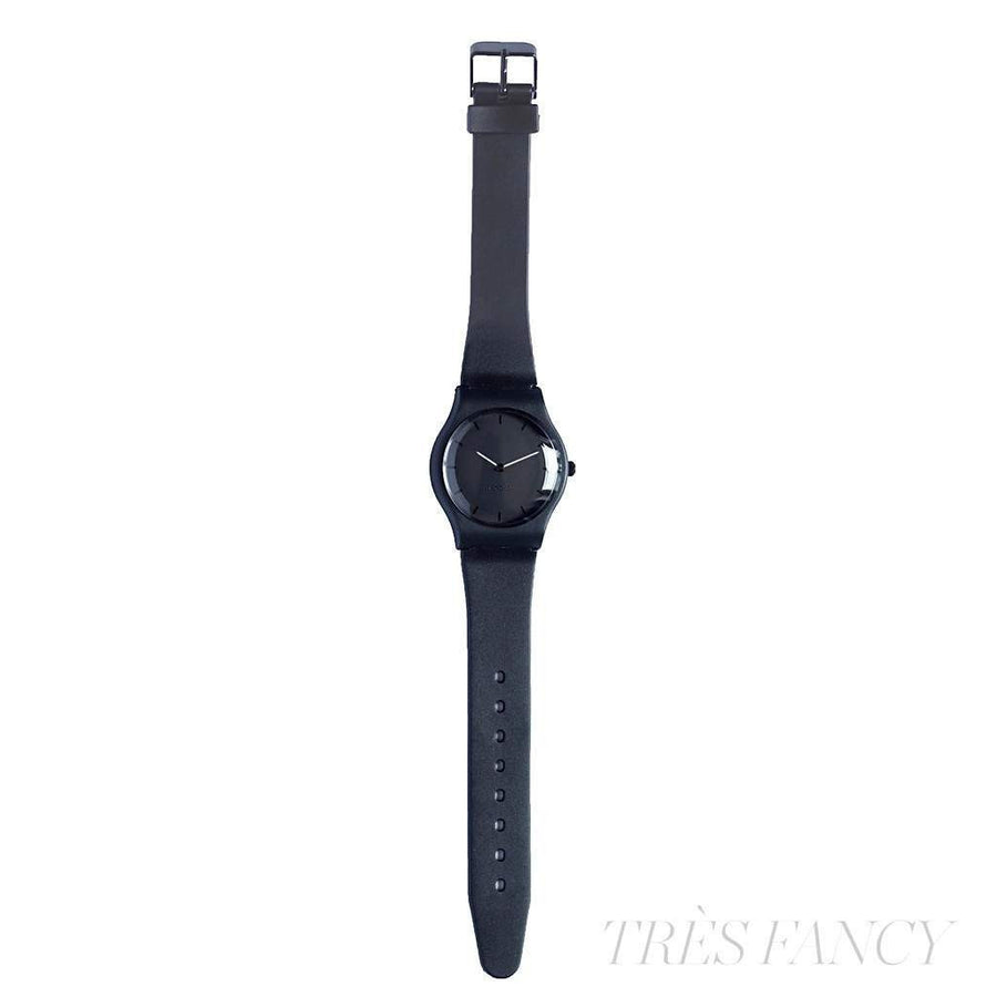 Analog Watch - Resin Strap, blue-Men - Accessories - Watches-Lenger-Blue-TRESFANCY