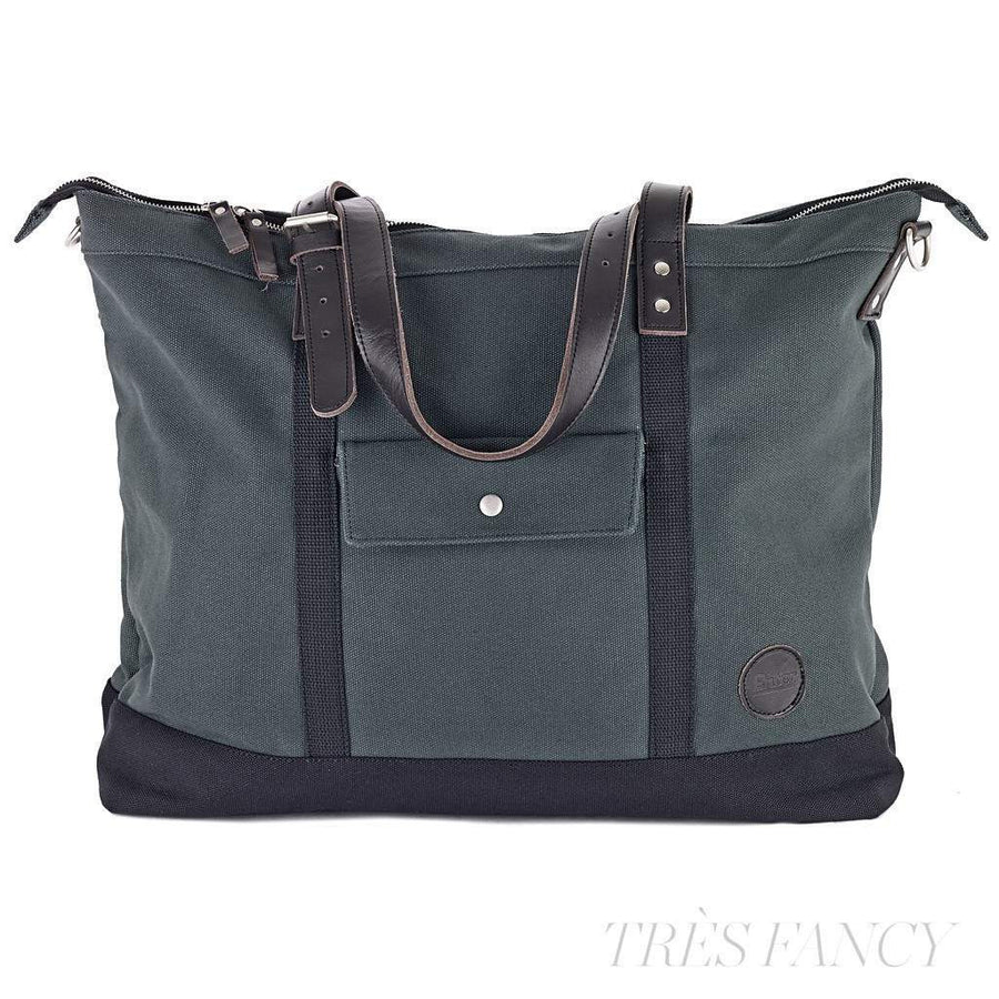 Army Green Zip Tote-Men - Bags - Totes-Enter Accessories-TRESFANCY
