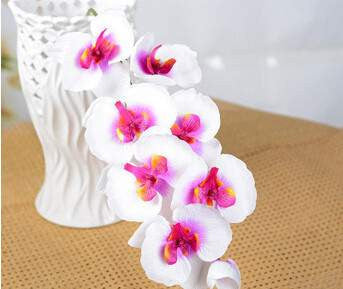 Artificial butterfly orchid silk flower bouquet for home decoration artificial butterfly orchid silk flower bouquet for home decoration home decor silk flowers mightylinksfo