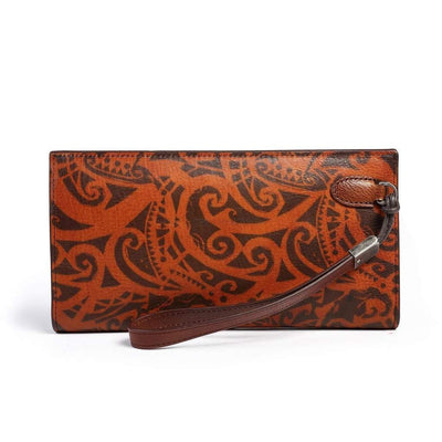 Aster Leather Clutch-Women - Bags - Clutches & Evening-More Lane Inc-Très Fancy