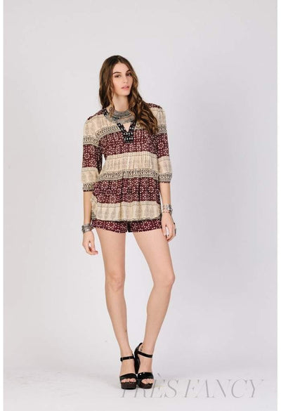 AZTEC SAHARA BLOUSE-Women - Apparel - Shirts - Blouses-RAGA-Très Fancy