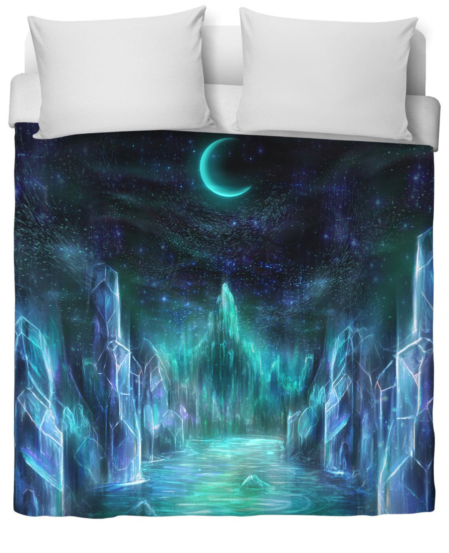 The midnight realms duvet cover-Duvet Covers-LouisDyer-Twin-Très Fancy