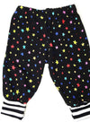 Baby Pants with colourful Stars ALL over - Size NB-24 Months-Children - Girls - Apparel-Tiny Kiddie-Très Fancy
