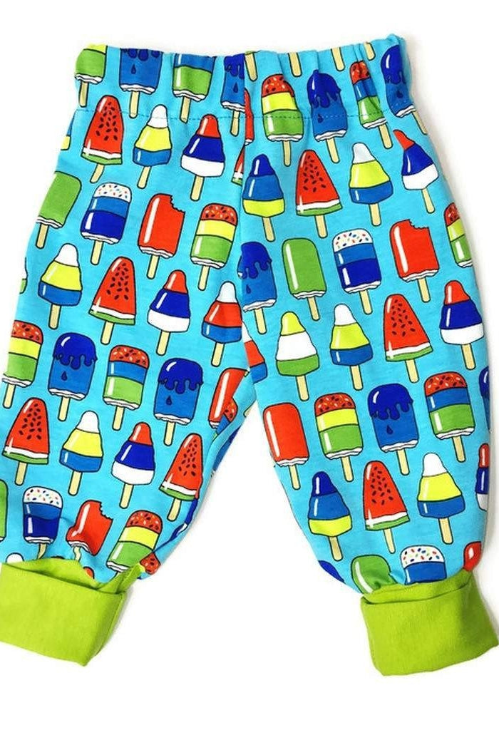 Baby Pants with Ice Cream - Size Newborn-24 Months-Children - Boys - Apparel-Tiny Kiddie-Très Fancy