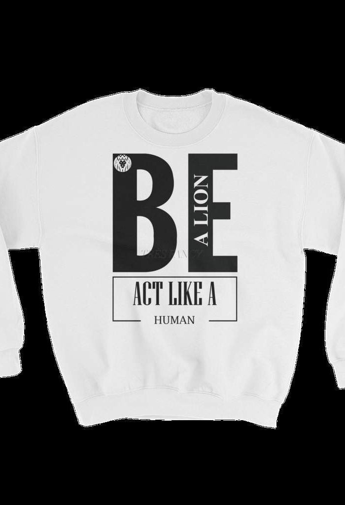 Be Like A Lion Sweater-Men - Apparel - Sweaters - Hoodies-BLKMANE-Très Fancy