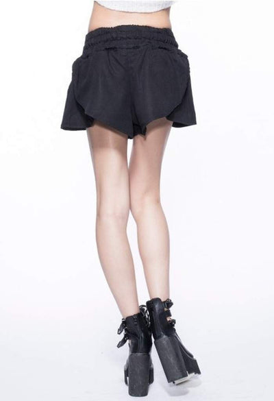 Bell Black-Women - Apparel - Shorts - Casual-Indigo Paper-Très Fancy