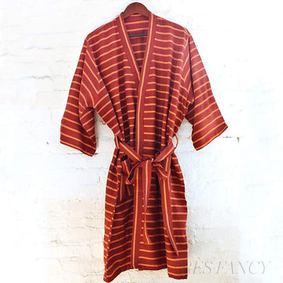 Berry Brown Robes-Beauty - Women's - Bath & Body-Kara Weaves-Berry Teal-Très Fancy