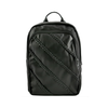 Black Braided Faux Leather Backpack-Women - Bags - Backpacks-Le Chic, LLC-Très Fancy