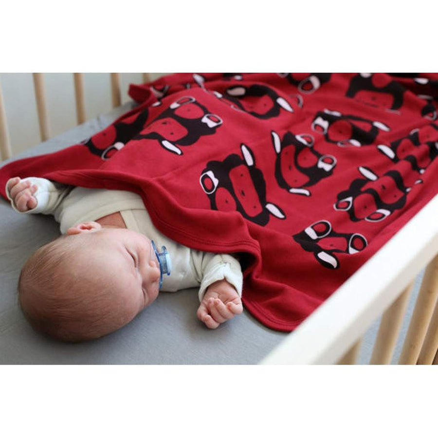 Black Sheep Organic Baby Blanket-Children - Girls - Accessories-Mezoome Designs-Très Fancy