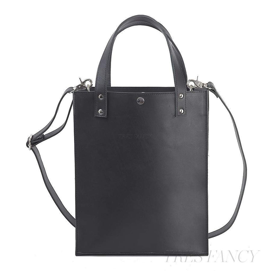 Black Tote-Men - Bags - Totes-Enter Accessories-TRESFANCY