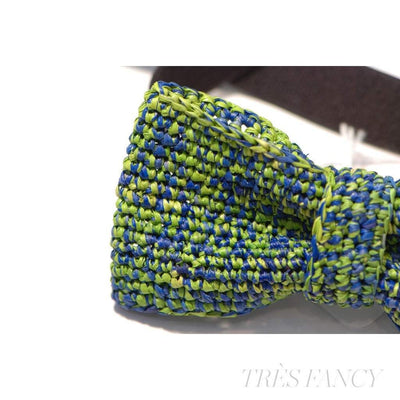 BLENDED - Royal Blue / Apple Green-Men - Accessories - Bow Ties-Victor Marie-Très Fancy