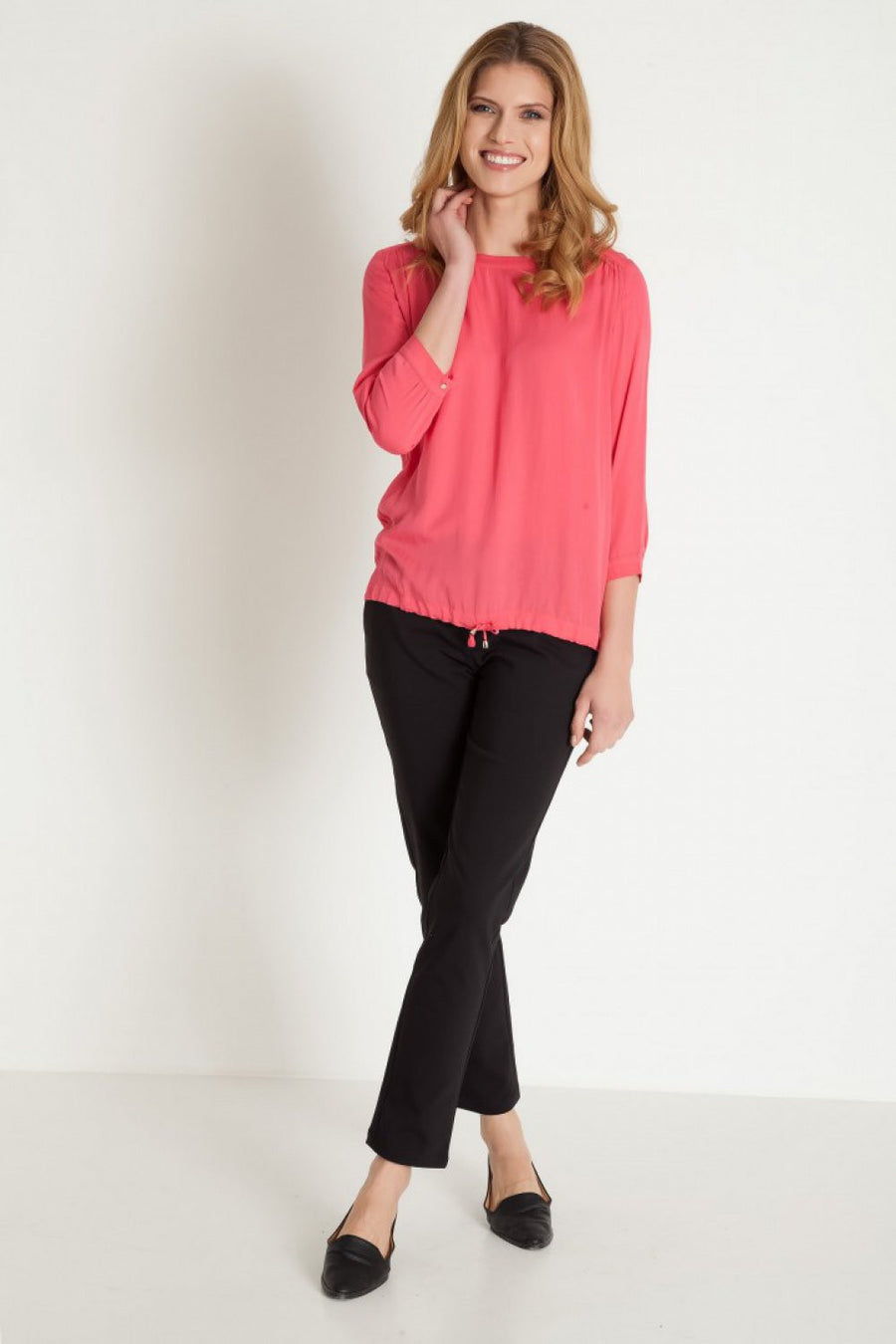 Blouse 77919 Greenpoint-Women`s Blouses & Tunics-Greenpoint-pink-36-TRESFANCY