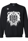 BornKing Black Sweater Unisex-Men - Apparel - Sweaters - Crew Neck-BLKMANE-Très Fancy