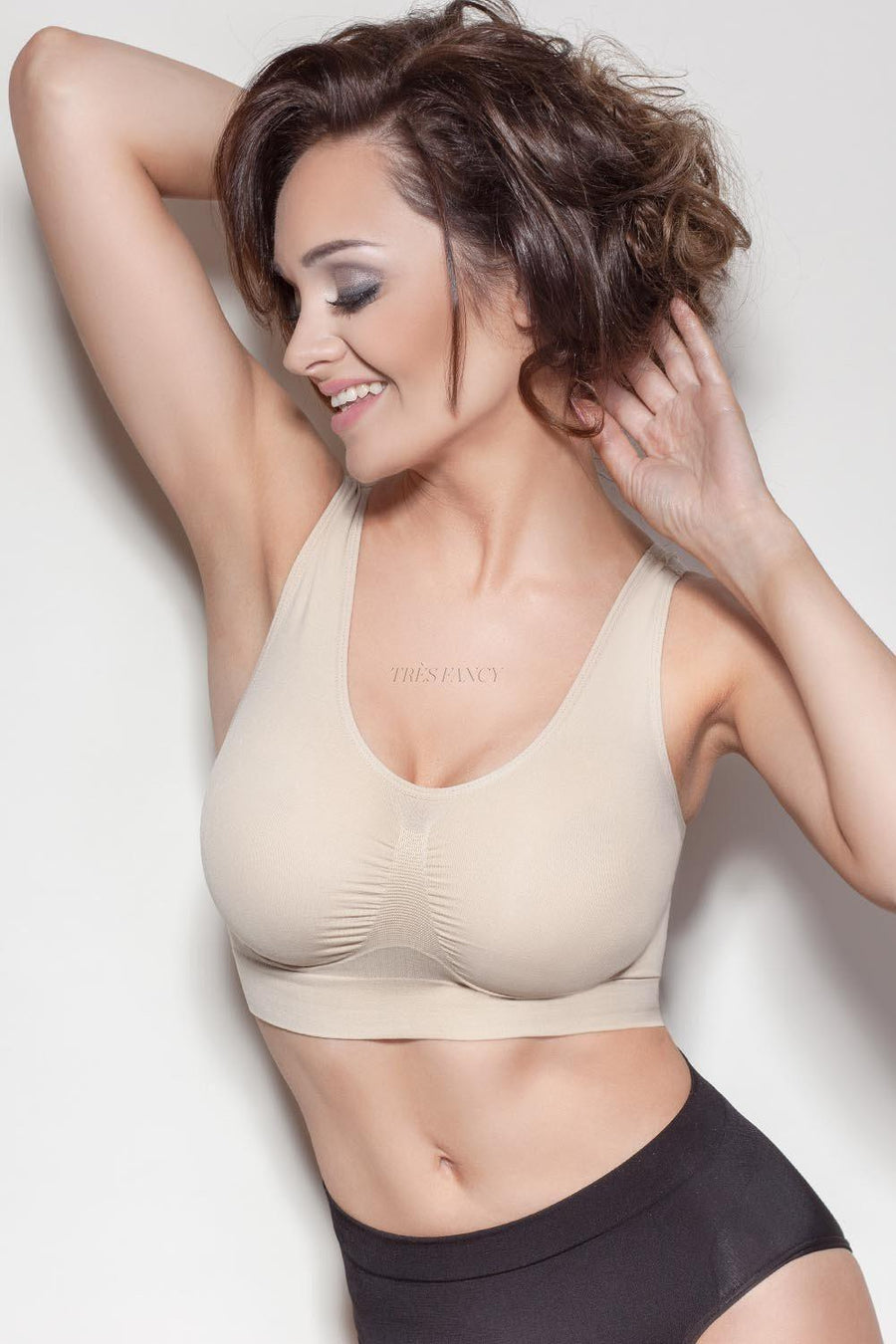 Bra 49447 Mitex-Seamless, Shaping & Slimming Bras, Tops-Mitex-beige-L/XL-TRESFANCY