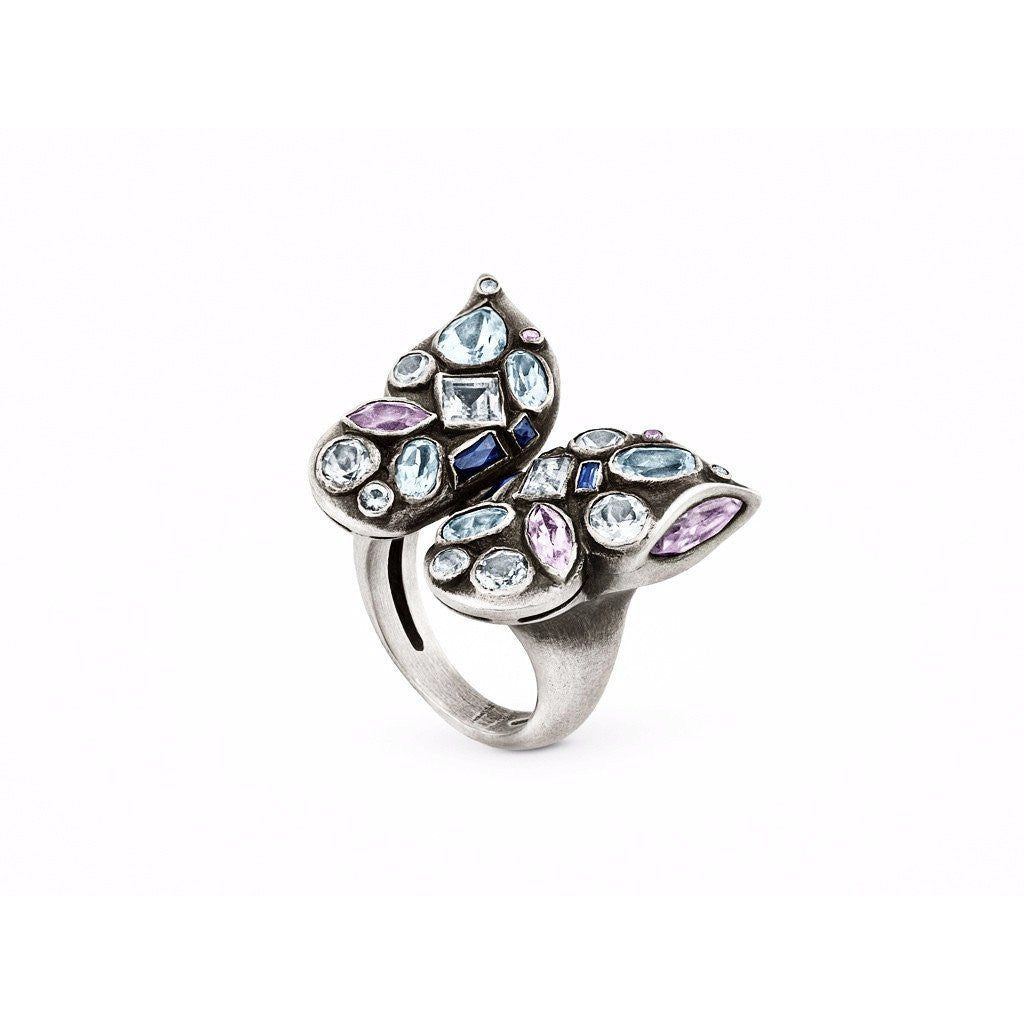 white pin gold pinterest exceptional ring rings butterfly