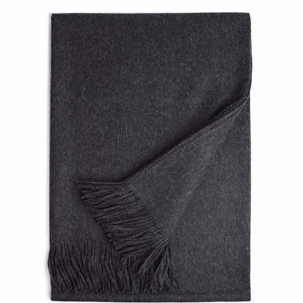 Carbon Baby Alpaca Throw-Home - Pillows & Throws-Winterfiber-Très Fancy