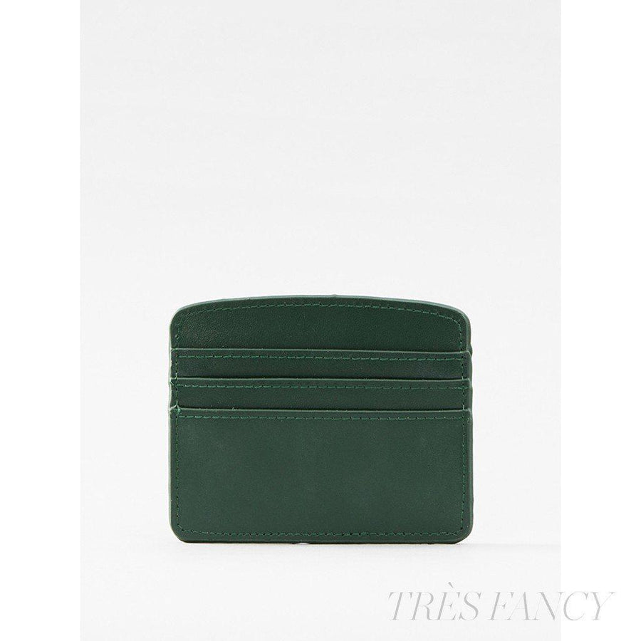 Card Case Deep Olive-Women - Accessories - Wallets & Small Goods-Paperthinks Europe-TRESFANCY