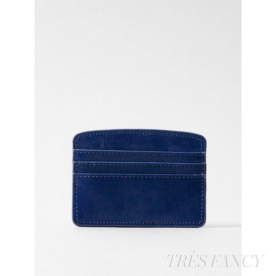 Card Case Navy Blue-Women - Accessories - Wallets & Small Goods-Paperthinks Europe-TRESFANCY