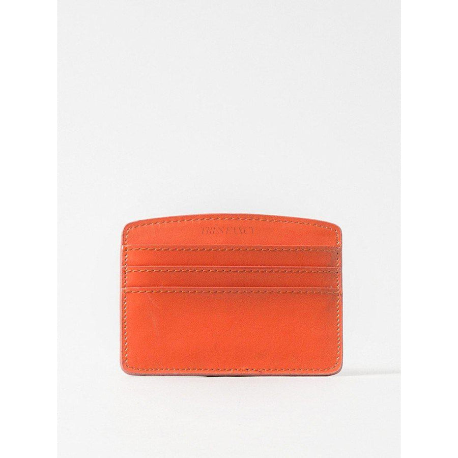 Card Case Tangerine Orange-Women - Accessories - Wallets & Small Goods-Paperthinks Europe-TRESFANCY