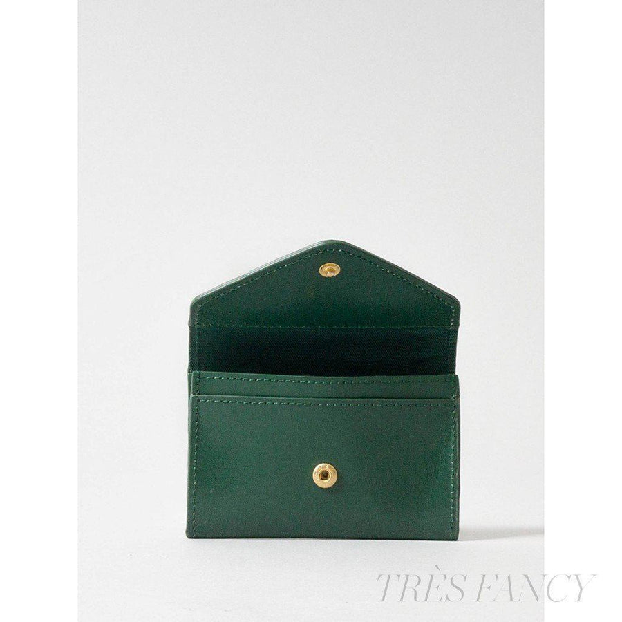 Card Envelope Deep Olive-Women - Accessories - Wallets & Small Goods-Paperthinks Europe-TRESFANCY