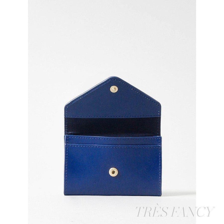 Card Envelope Navy Blue-Women - Accessories - Wallets & Small Goods-Paperthinks Europe-TRESFANCY