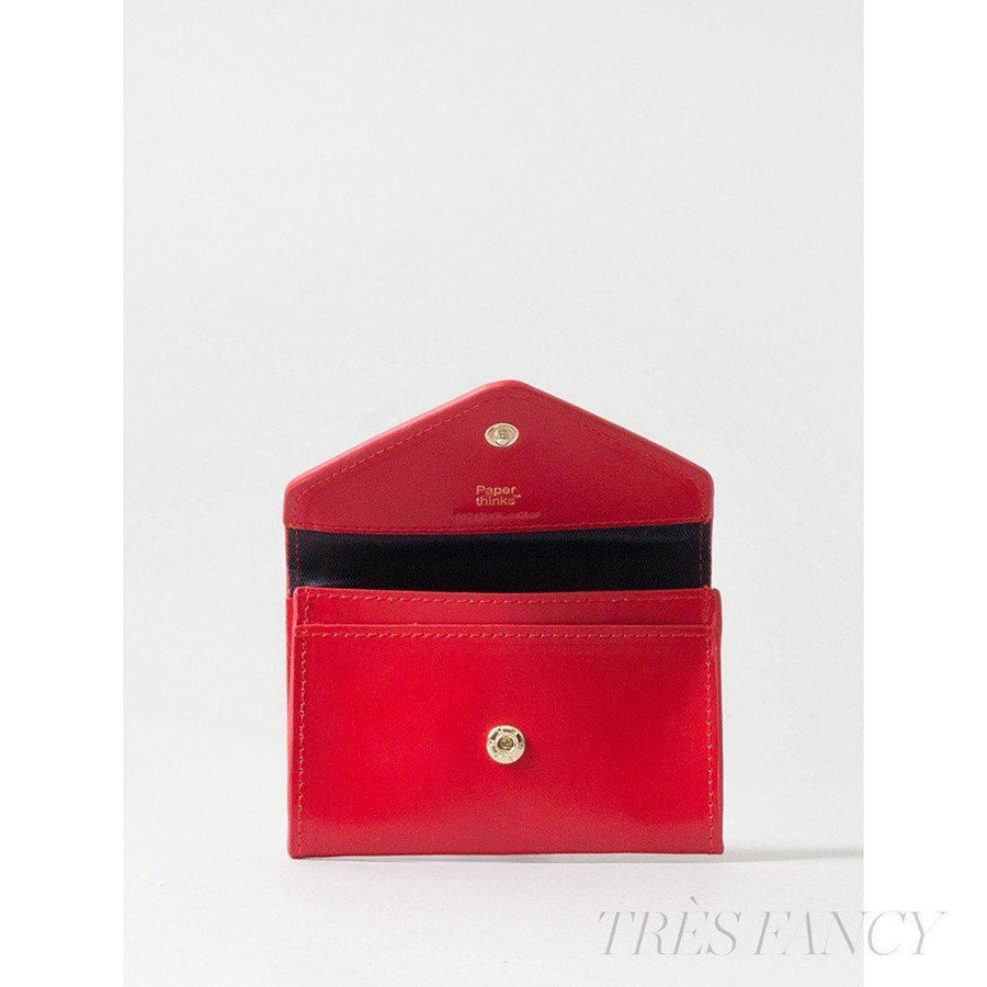 Card Envelope Scarlet-Women - Accessories - Wallets & Small Goods-Paperthinks Europe-TRESFANCY