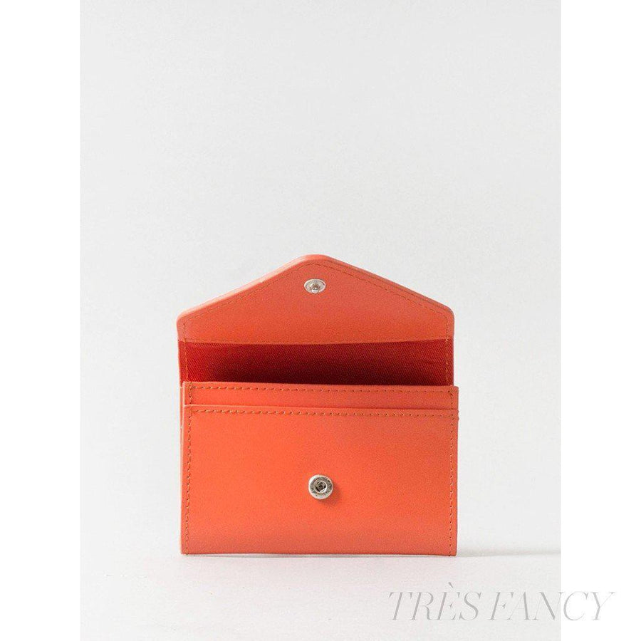 Card Envelope Tangerine Orange-Women - Accessories - Wallets & Small Goods-Paperthinks Europe-TRESFANCY