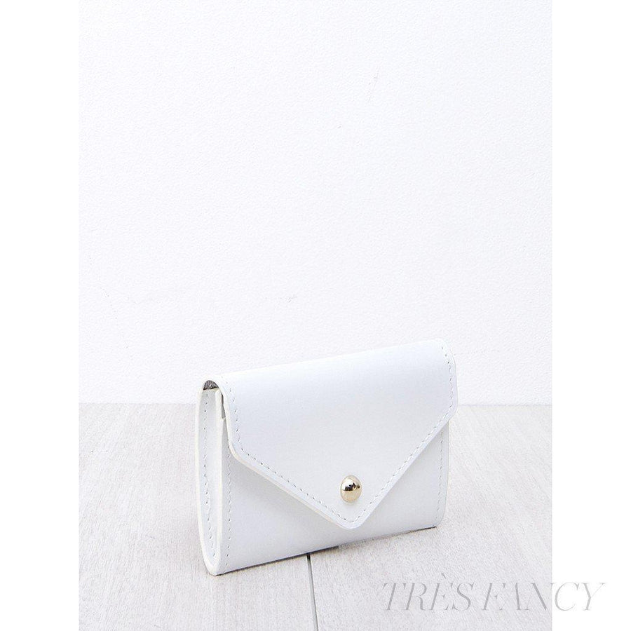 Card Envelope White-Women - Accessories - Wallets & Small Goods-Paperthinks Europe-TRESFANCY