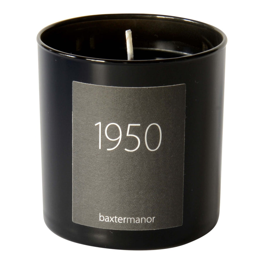 1950 #OurHistoryCollection Candle by Baxter Manor-Home - Candles-Baxter Manor-Black-Très Fancy