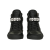 CLASSIC HIGH TOP WOMEN | HARLEM | BLACK-Women - Shoes - Sneakers-MARCUS HANUY-Très Fancy