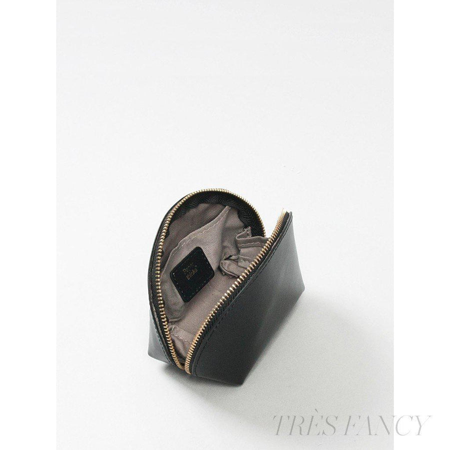 Coin Pouch Black-Women - Accessories - Wallets & Small Goods-Paperthinks Europe-TRESFANCY
