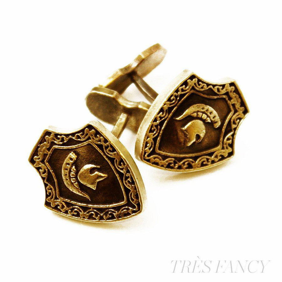 Cufflinks Men Cuff Gift for men-Men - Jewelry - Cuffs-PerePaix-Scar-Très Fancy