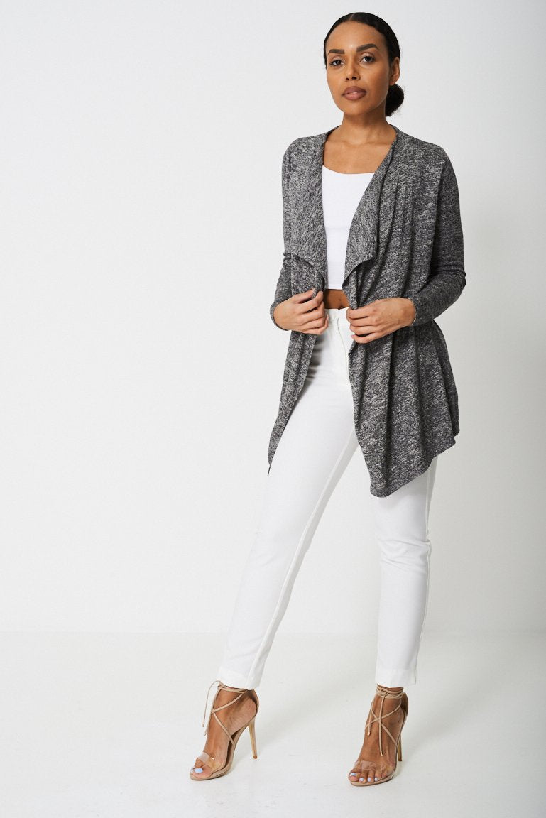 Waterfall Front Cardigan Ex-Branded