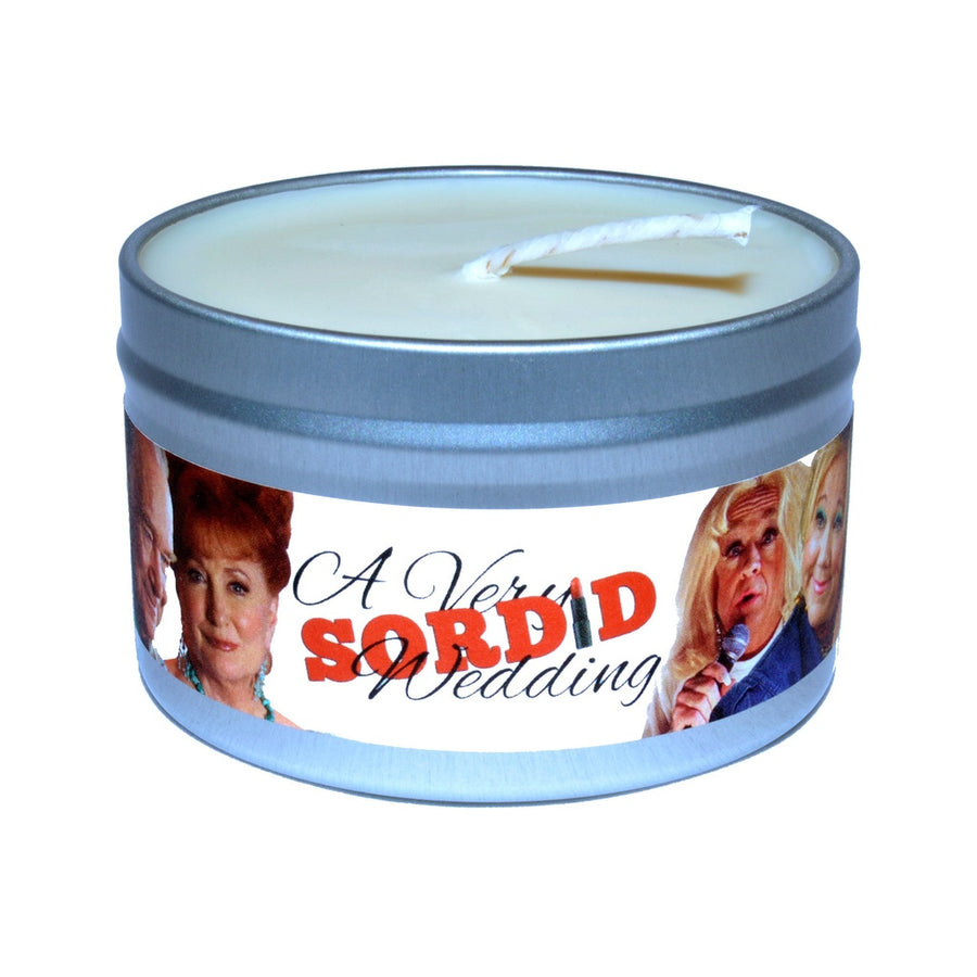 "25% Off A Complete Set of ""A Very Sordid Wedding"" Character Candles!-Home - Candles-Baxter Manor-Très Fancy"
