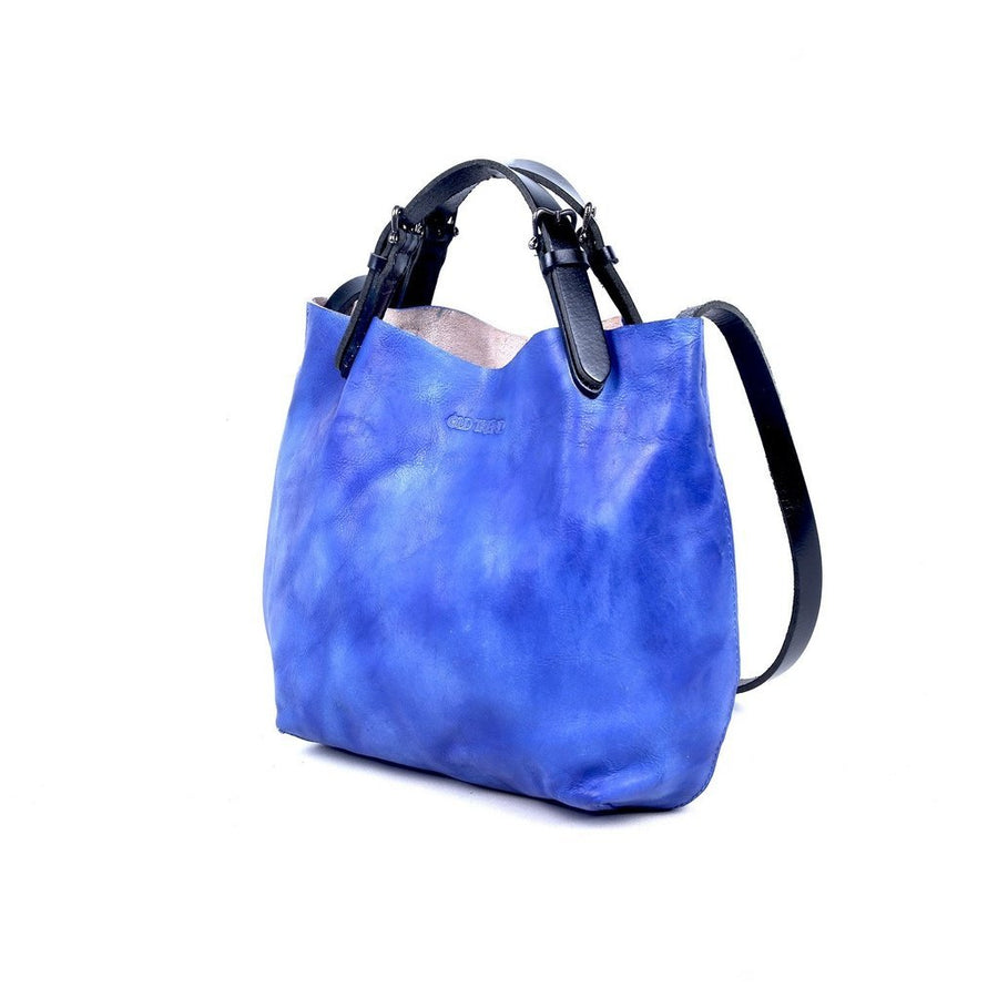Dip Dye Leather Mini Tote