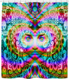 Awesome Energy Shower Curtain-Shower Curtains-LarryCarlson-One Size-Très Fancy