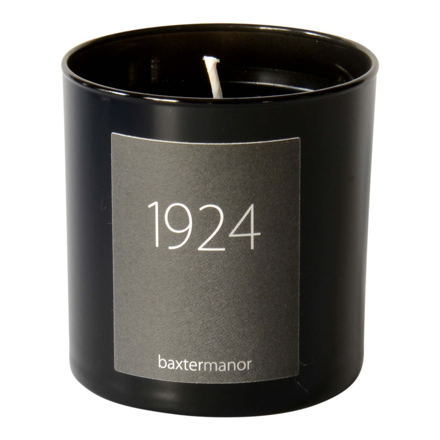1924 #OurHistoryCollection Candle by Baxter Manor-Home - Candles-Baxter Manor-Black-Très Fancy