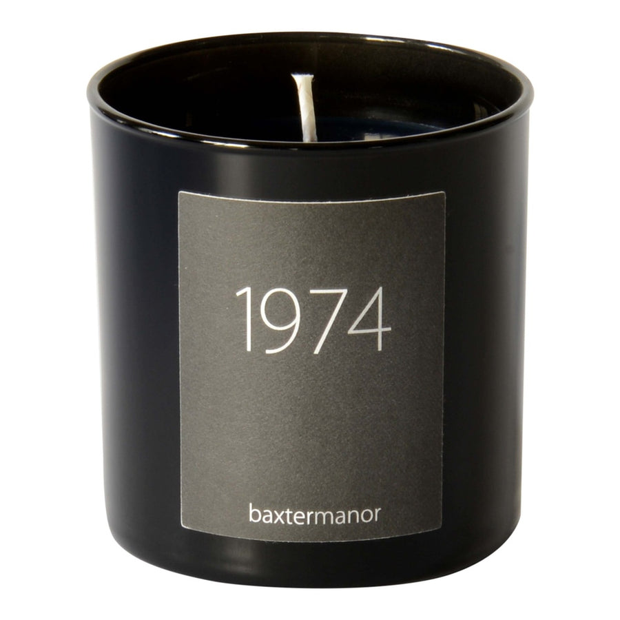 1974 #OurHistoryCollection Candle by Baxter Manor-Home - Candles-Baxter Manor-Black-Très Fancy