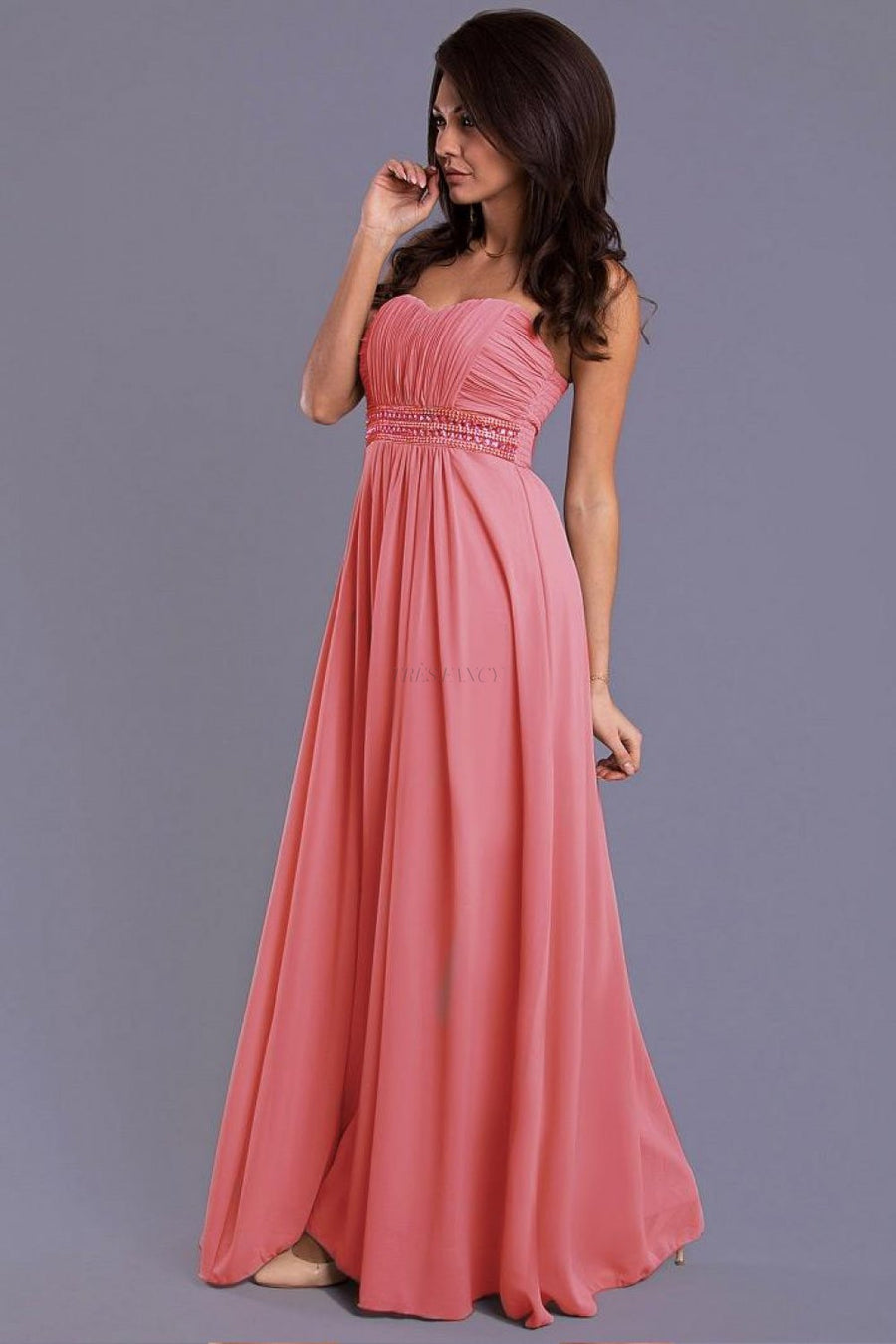 Evening dress 38429 YourNewStyle-Evening Dresses-YourNewStyle-pink-M-Très Fancy
