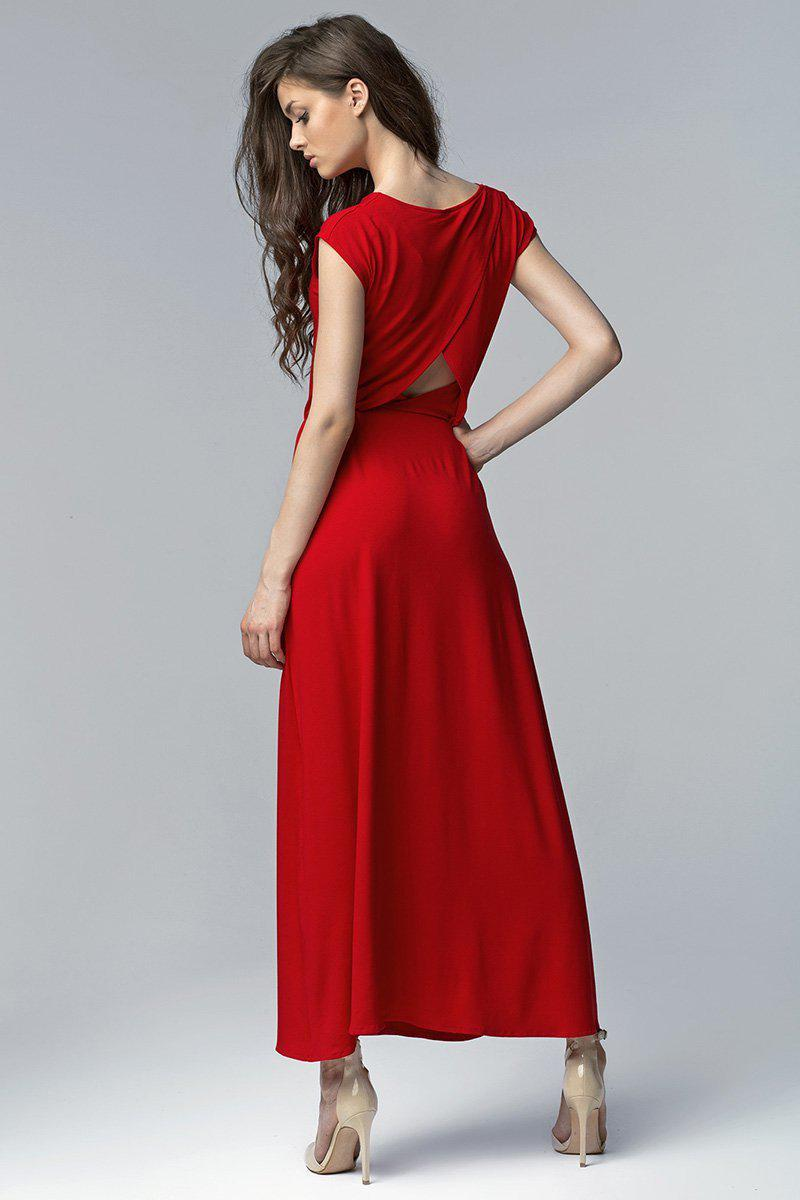 Evening dress 39352 Nife-Evening Dresses-Nife-red-34-Très Fancy