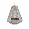 Reproduction of Cell Tall Pendant Lamp - Chrome | GFURN-Home - Furniture-GFURN Design Furniture-Très Fancy