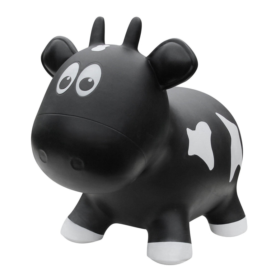 Farm Hoppers Award Winning Inflatable Cow Bouncing with Pump for Kids, Red-Children - Unisex - Toys-Farm Hoppers-One Size fit 18m - 4 yrs kids-Red-Très Fancy