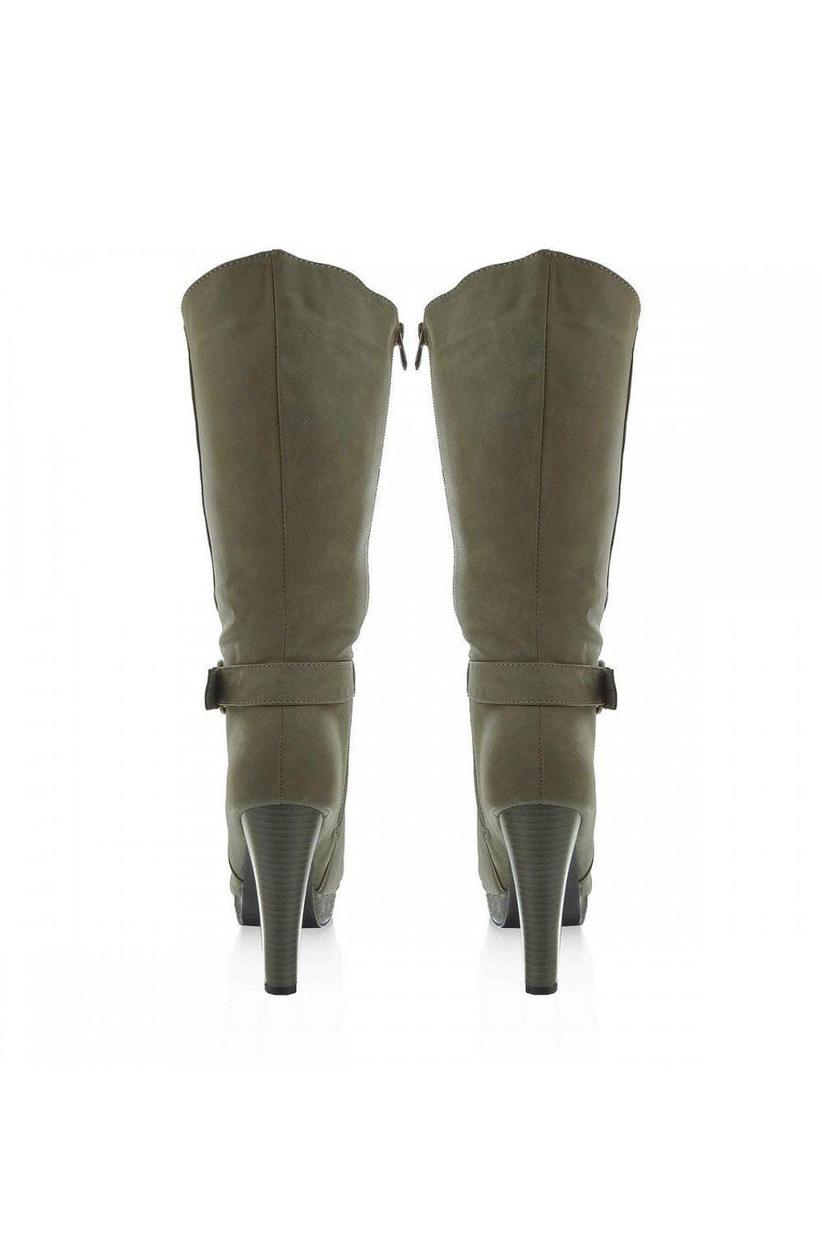 Heel boots 20393 Heppin-Over the Knee High Boots, Thigh High Boots-Heppin-40-TRESFANCY