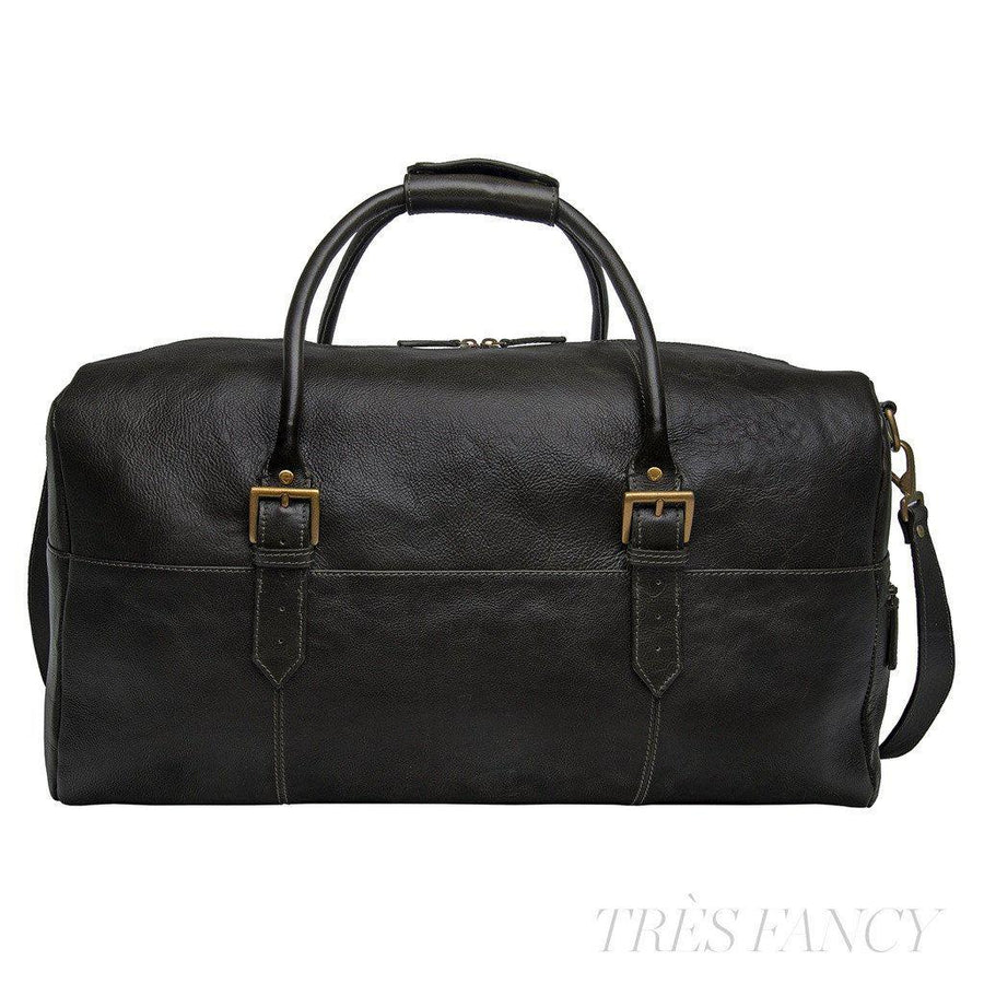 Hidesign Charles Leather Cabin Travel Duffle Weekend Bag-Men - Bags - Duffels-Hidesign-Très Fancy