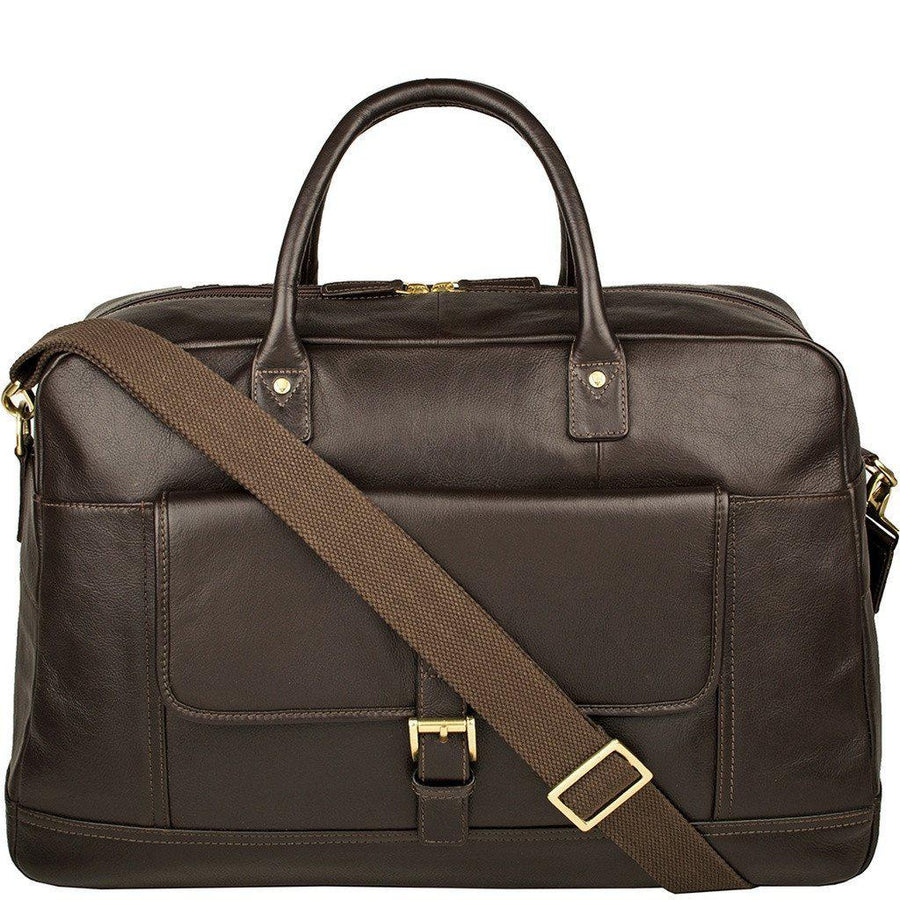 Hunter Cabin Sized Duffel in Classic Leather-Men - Bags - Duffels-Hidesign-Très Fancy