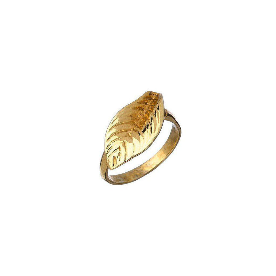 Leaf Ring-Women - Jewelry - Rings-Alicia Marilyn Designs-Très Fancy