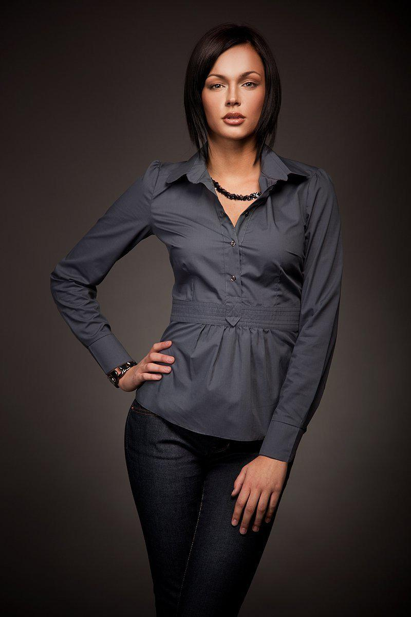 Long sleeve shirt 5402 Nife-Shirts for Women-Nife-Très Fancy