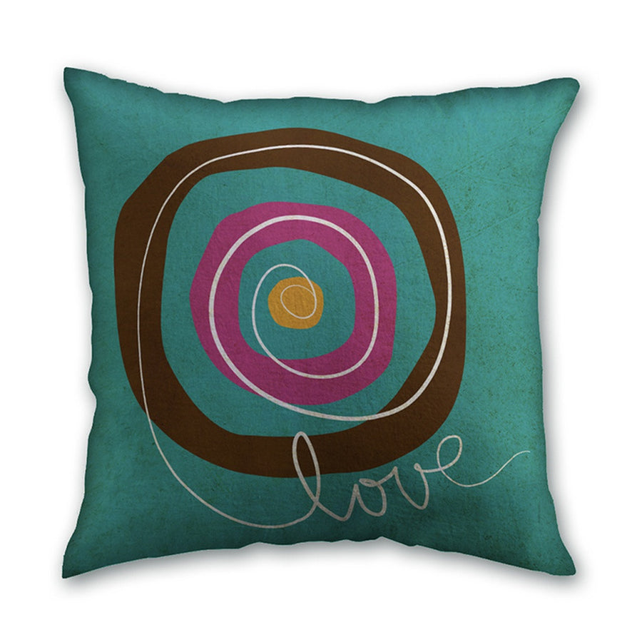 Love-Home - Pillows & Throws-Home Interiors by Kbalkarran-Très Fancy