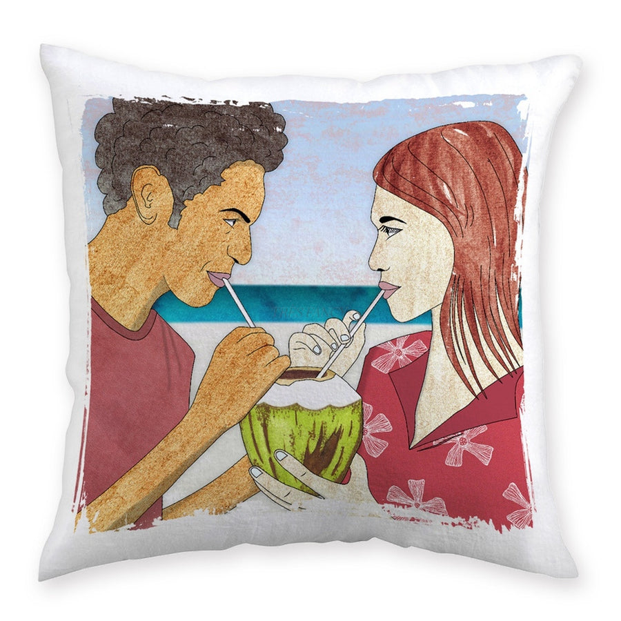 Lovers juice-Home - Pillows & Throws-Home Interiors by Kbalkarran-Très Fancy