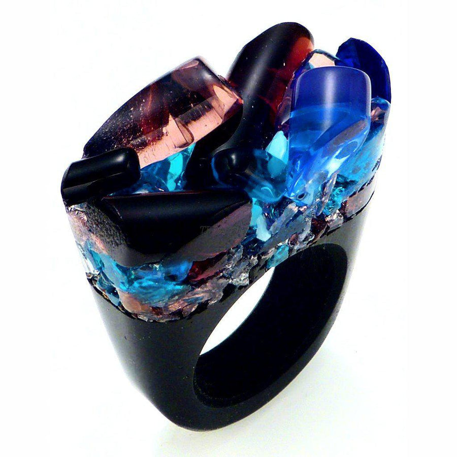 Made with Murano, unisex Ring - Delight